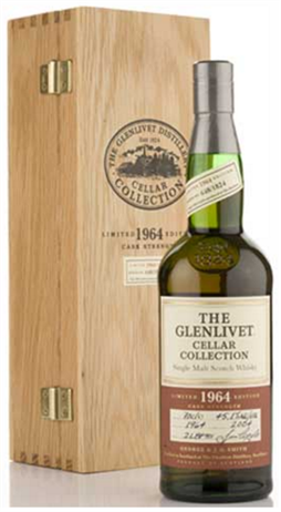 The Glenlivet Scotch Single Malt Cellar Collection 1964